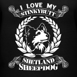 Shetland Sheepdog Shirt - Women's V-Neck T-Shirt