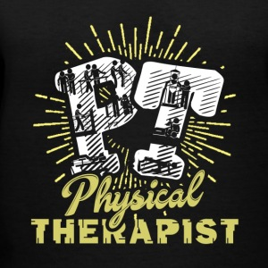 PT Physical Therapist Shirt - Women's V-Neck T-Shirt