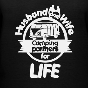 Husband And Wife Camping Partners Shirt - Women's V-Neck T-Shirt