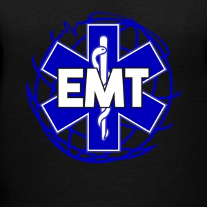 Distressed Emergency Medical Technician Or EMT Tee - Women's V-Neck T-Shirt
