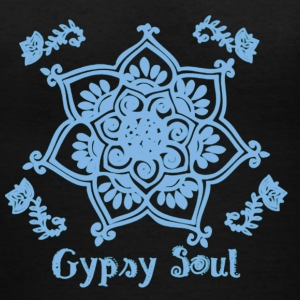 Gypsy Soul Bohemian Yoga Shirt - Women's V-Neck T-Shirt