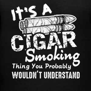 Cigar Lovers Tee Shirt - Women's V-Neck T-Shirt