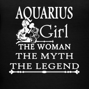 Aquarius Girl Tee Shirt - Women's V-Neck T-Shirt
