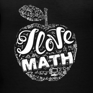 I Love Math Shirts - Women's V-Neck T-Shirt