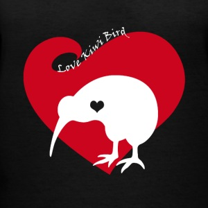 Love Kiwi Bird Tee Shirt - Women's V-Neck T-Shirt