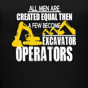 EXCAVATOR OPERATORS TEE SHIRT - Women's V-Neck T-Shirt