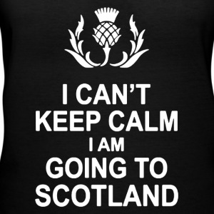 I CAN'T KEEP CALM I AM GOING TO SCOTLAND - Women's V-Neck T-Shirt