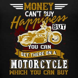 HAPPINESS MOTORCYCLE SHIRT - Women's V-Neck T-Shirt