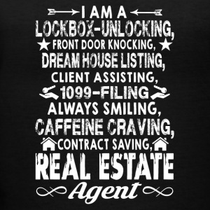 Real Estate Agent Shirts - Women's V-Neck T-Shirt