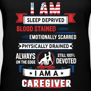 Caregiver Tee Shirt - Women's V-Neck T-Shirt