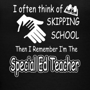 special ed teacher tee shirt - Women's V-Neck T-Shirt