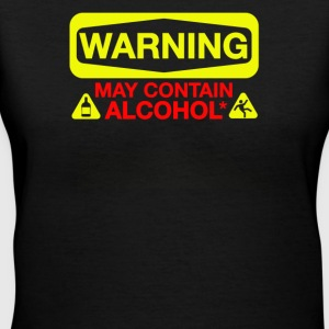 May Contain Alcohol - Women's V-Neck T-Shirt