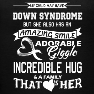 Down Syndrome Shirts - Women's V-Neck T-Shirt