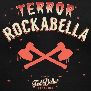 Terror Rockabella - Women's V-Neck T-Shirt