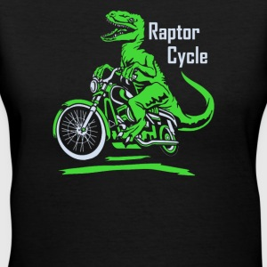 Raptor Cycle - Women's V-Neck T-Shirt