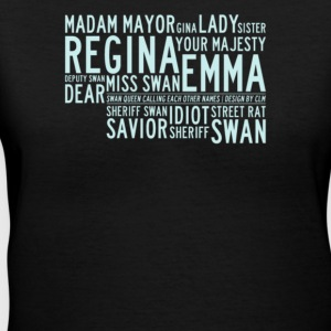 Regina your majesty deputy swan - Women's V-Neck T-Shirt
