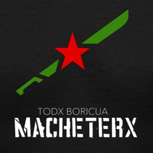 MACHETERX - Women's V-Neck T-Shirt