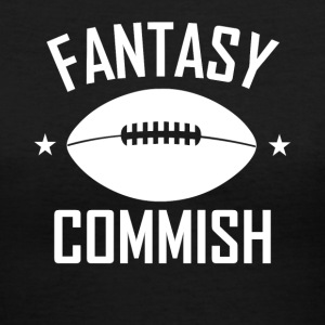 Fantasy Football Commish - Women's V-Neck T-Shirt