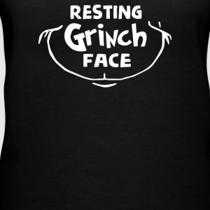 Resting Grinch Face Dr - Women's V-Neck T-Shirt
