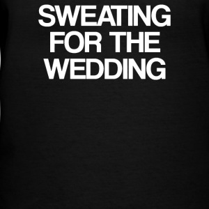 Sweating for the wedding - Women's V-Neck T-Shirt