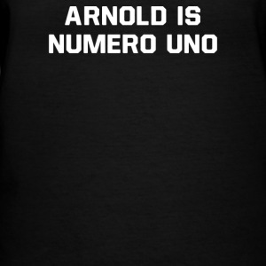 Arnold Is Numero Uno - Women's V-Neck T-Shirt