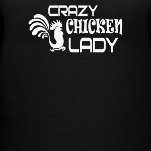Crazy Chicken Lady - Women's V-Neck T-Shirt