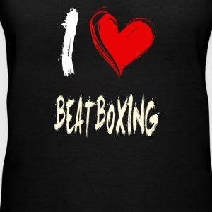 I love BEATBOXING - Women's V-Neck T-Shirt