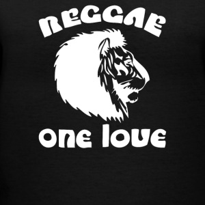 One Love Reggae - Women's V-Neck T-Shirt
