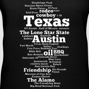 Texas (US state, The Lone Star State) - Women's V-Neck T-Shirt