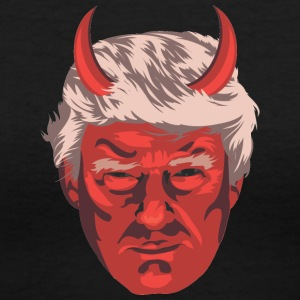 trumpdevilc - Women's V-Neck T-Shirt