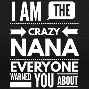 Crazy Nana - Women's V-Neck T-Shirt