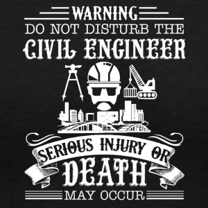 Civil Engineer Shirt - Women's V-Neck T-Shirt