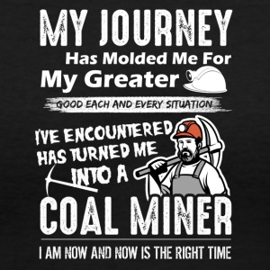 Coal Miner Tee Shirt - Women's V-Neck T-Shirt