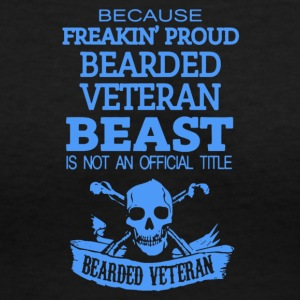 Veteran - Women's V-Neck T-Shirt