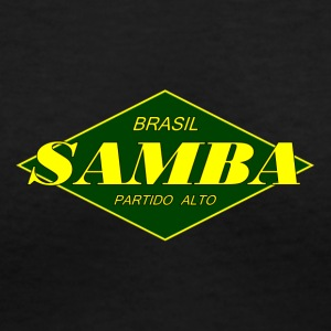 samba partido 2 - Women's V-Neck T-Shirt