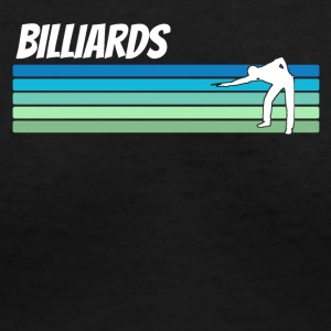 Retro Billiards - Women's V-Neck T-Shirt