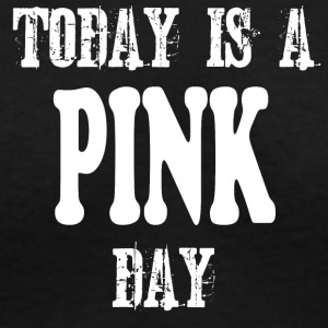 Pink Day - Women's V-Neck T-Shirt