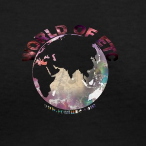 World Of Etc - Women's V-Neck T-Shirt