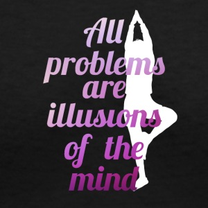 Yoga motivational quotes - Women's V-Neck T-Shirt
