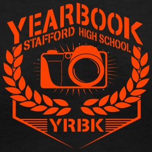 YEARBOOK STAFFORD HIGH SCHOOL YRBK - Women's V-Neck T-Shirt