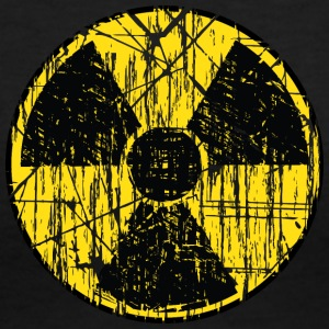 Radioactive - Women's V-Neck T-Shirt