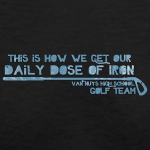 This Is How We Get Our Daily Dose Of Iron Van Nuys - Women's V-Neck T-Shirt
