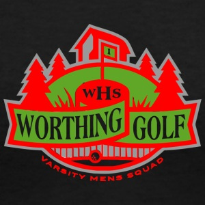WHS Worthing Golf Varsity Mens Squad - Women's V-Neck T-Shirt