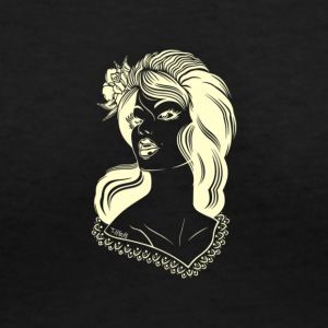 The Model - Women's V-Neck T-Shirt