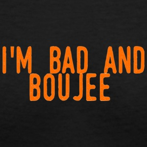 Bad And Buoujee - Women's V-Neck T-Shirt