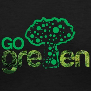 GoGreen - Women's V-Neck T-Shirt