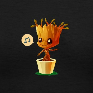 IM GROOT - Women's V-Neck T-Shirt