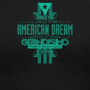 Living the american dream - Women's V-Neck T-Shirt