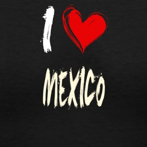 I love MEXICO - Women's V-Neck T-Shirt