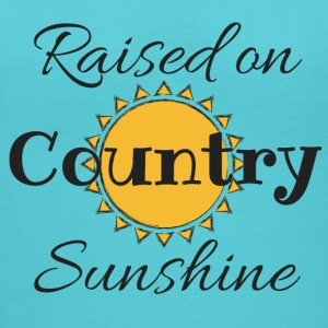 Raised on Country Sunshine - Women's V-Neck T-Shirt